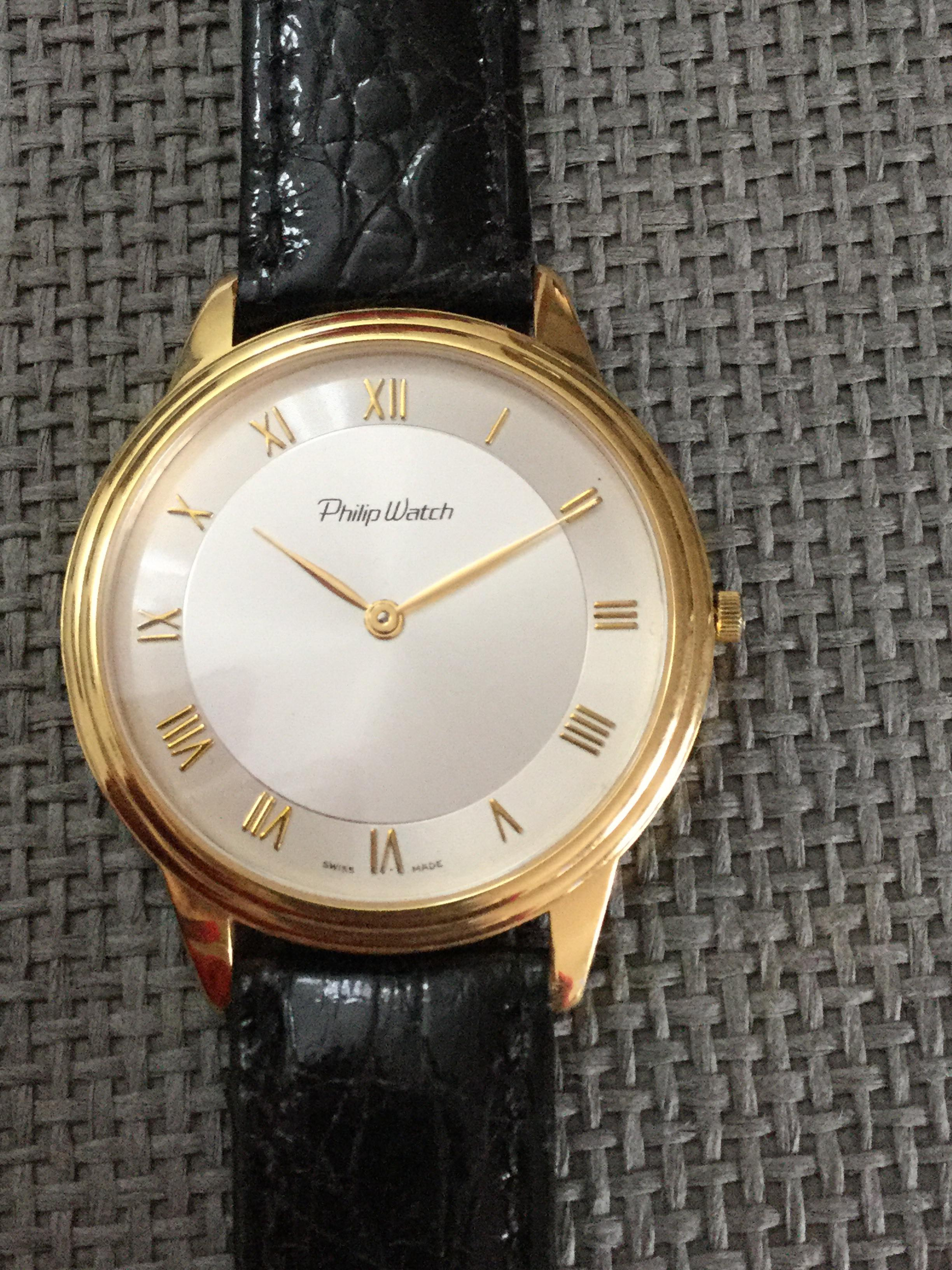 Philip Watch Classic Gold | Marcianise