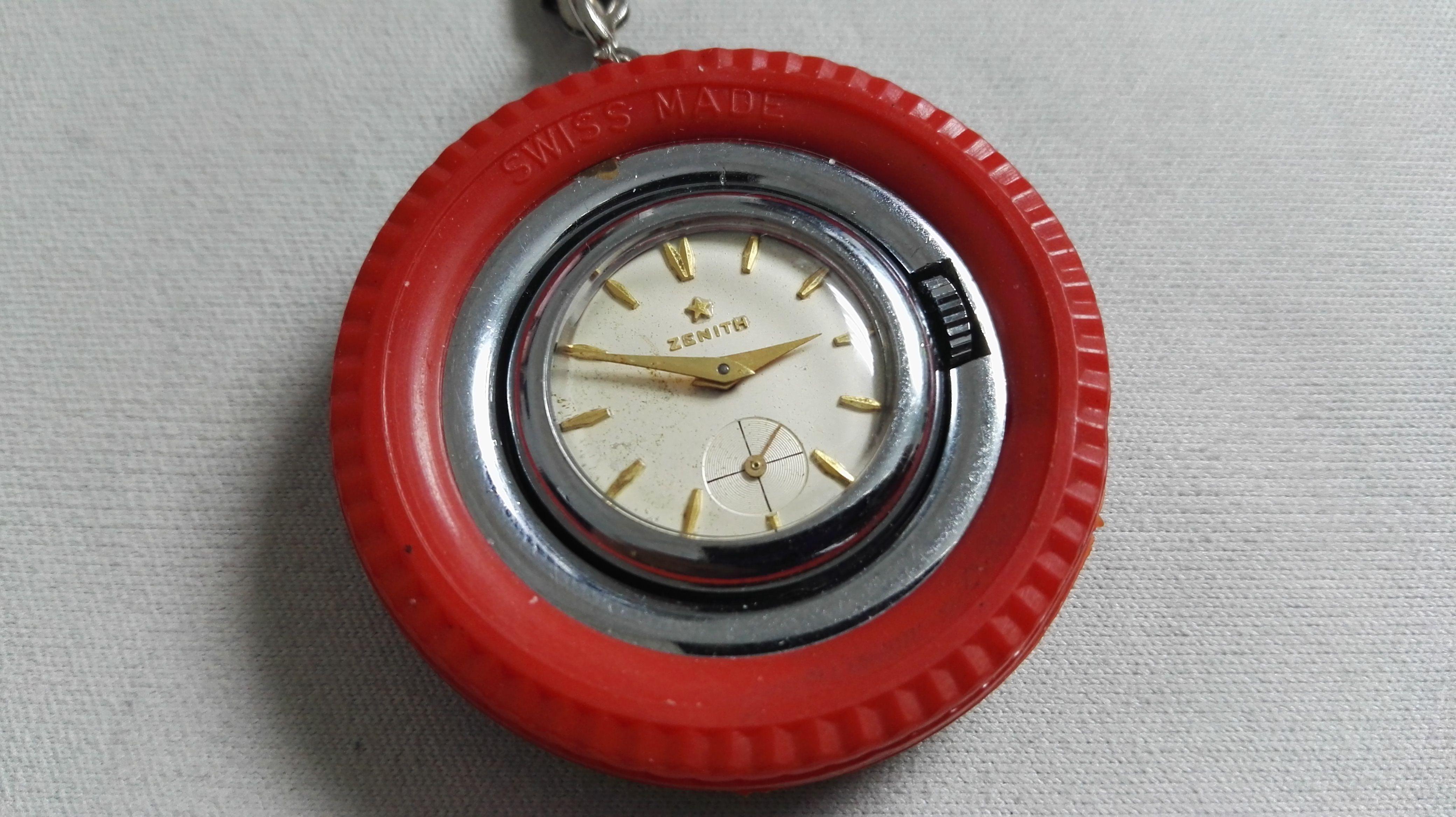 Zenith orologio portachiavi ruotino vintage meccanico manuale | San Giorgio a Cremano