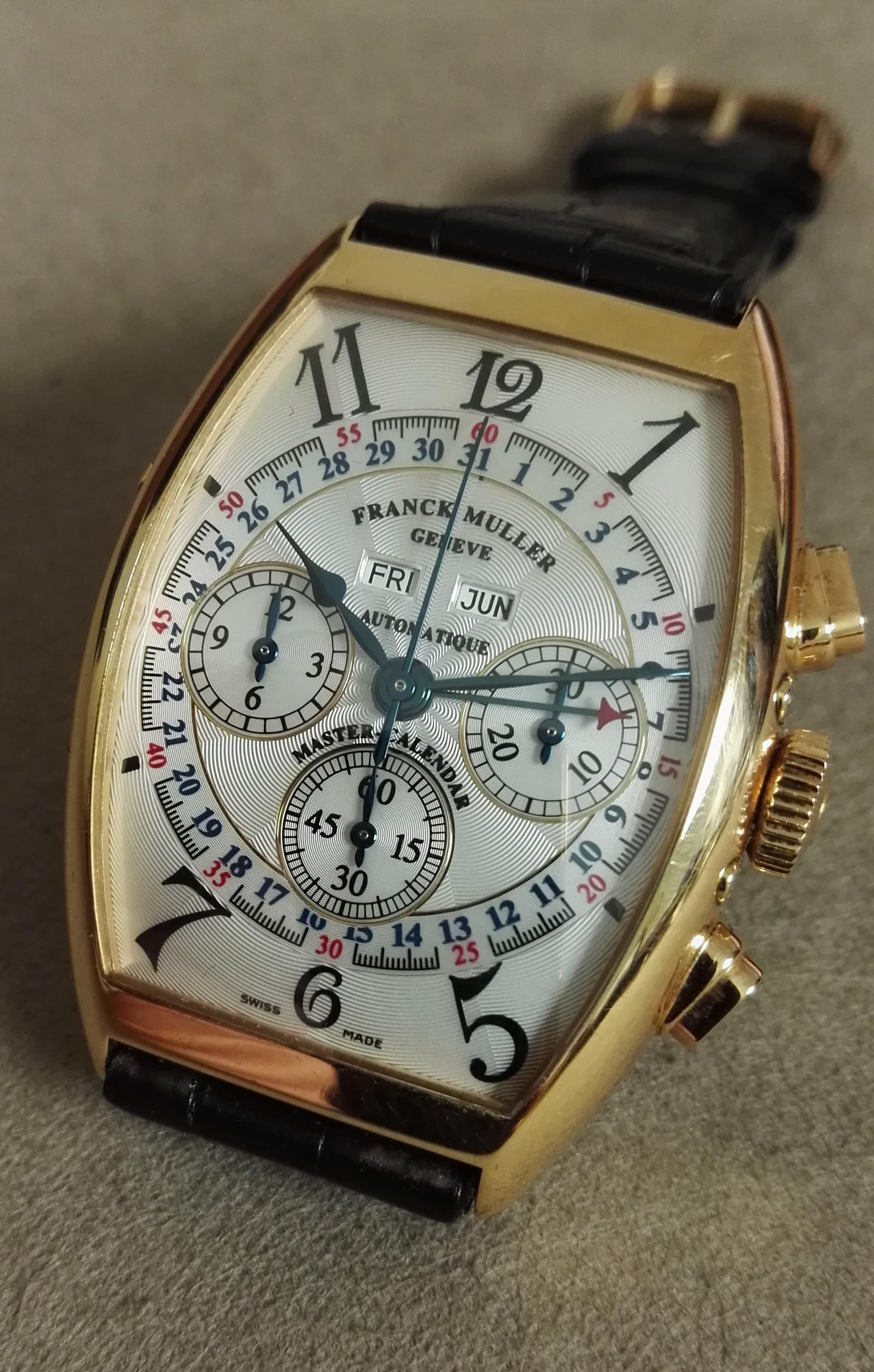 Franck Muller Master Calendar Magnum Chronograph 18K Rose Gold Automatic | San Giorgio a Cremano