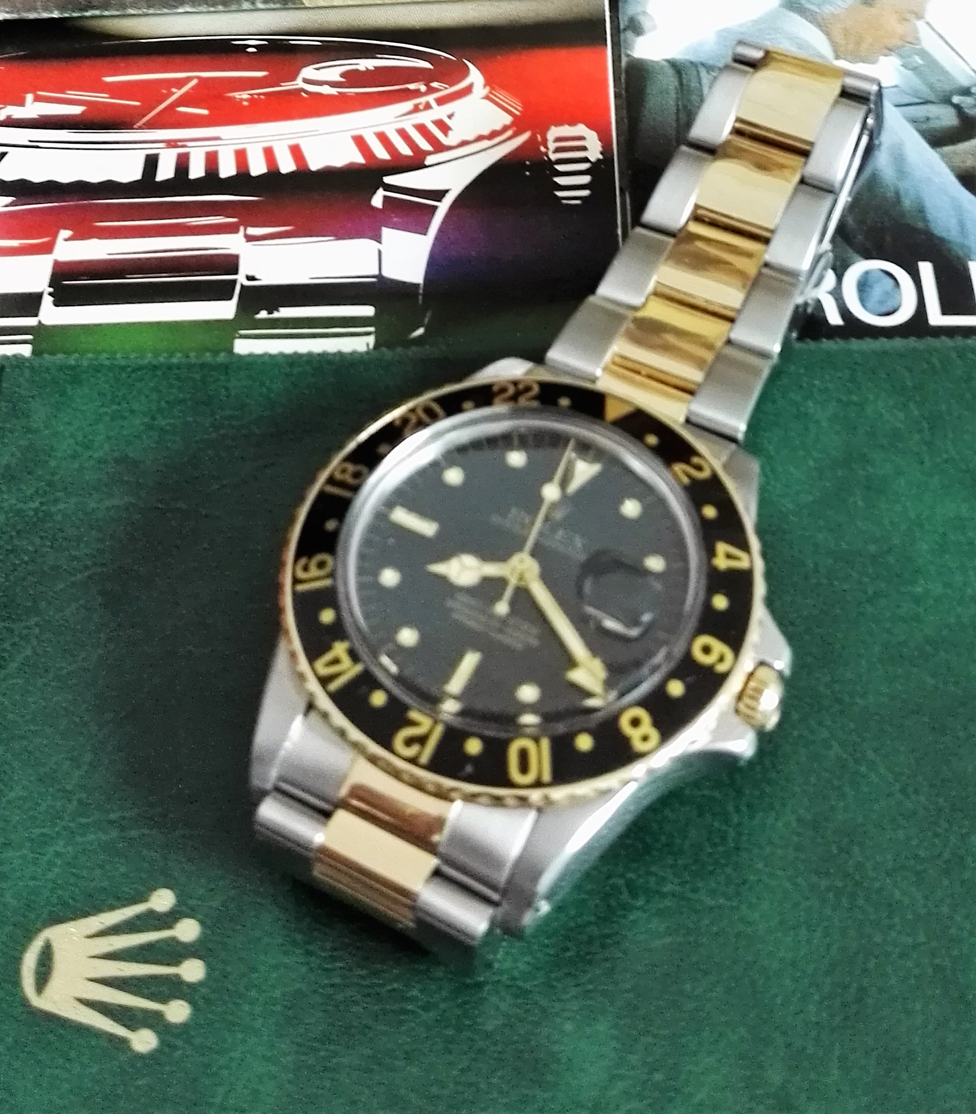 Rolex GMT-Master GMT-Master 16753 Nipple Dial 1986 Full Set   San Giorgio a Cremano