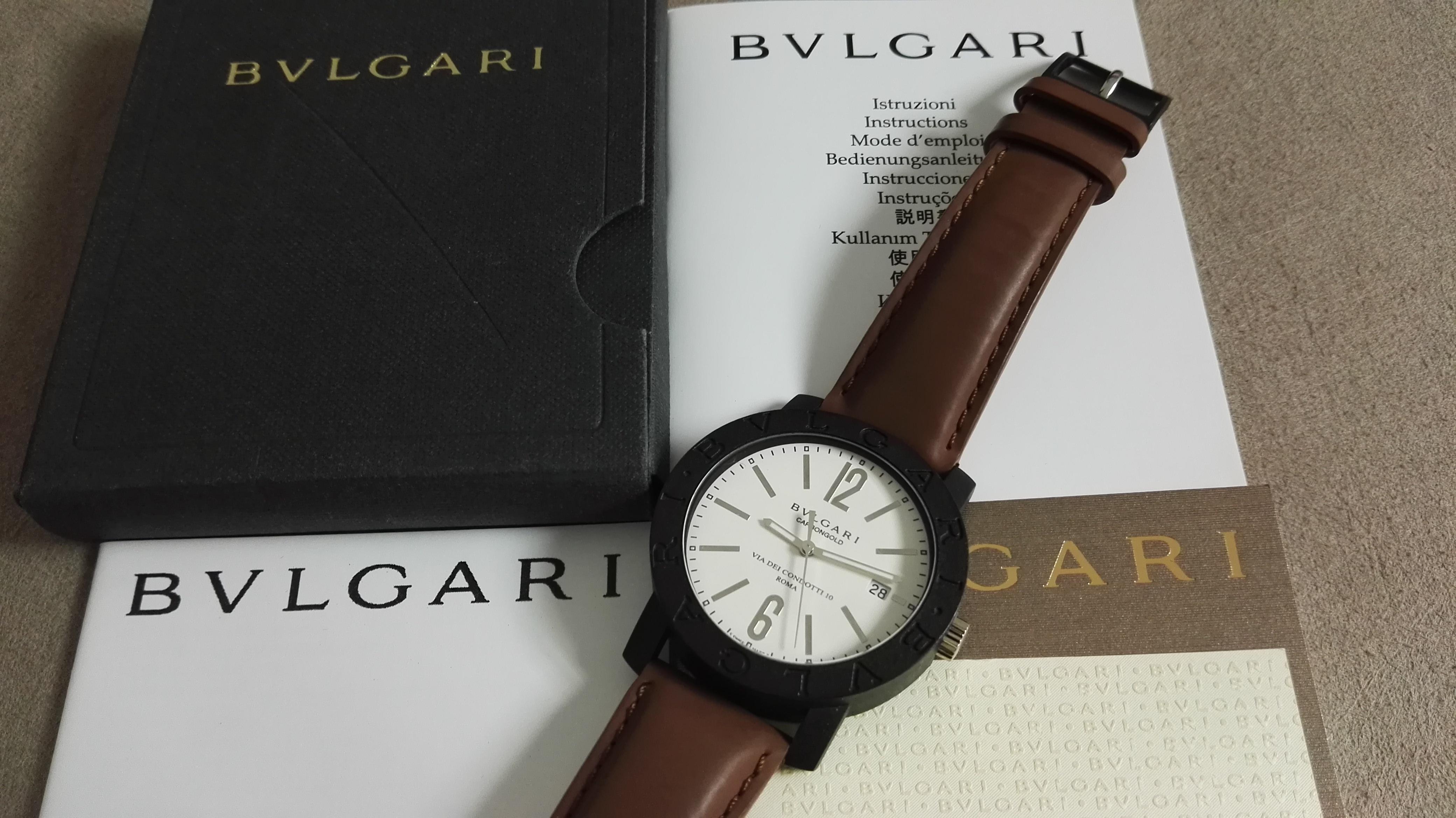 Bulgari CarbonGold - BB 40 CL - KSA Limited - 2011 - Full set