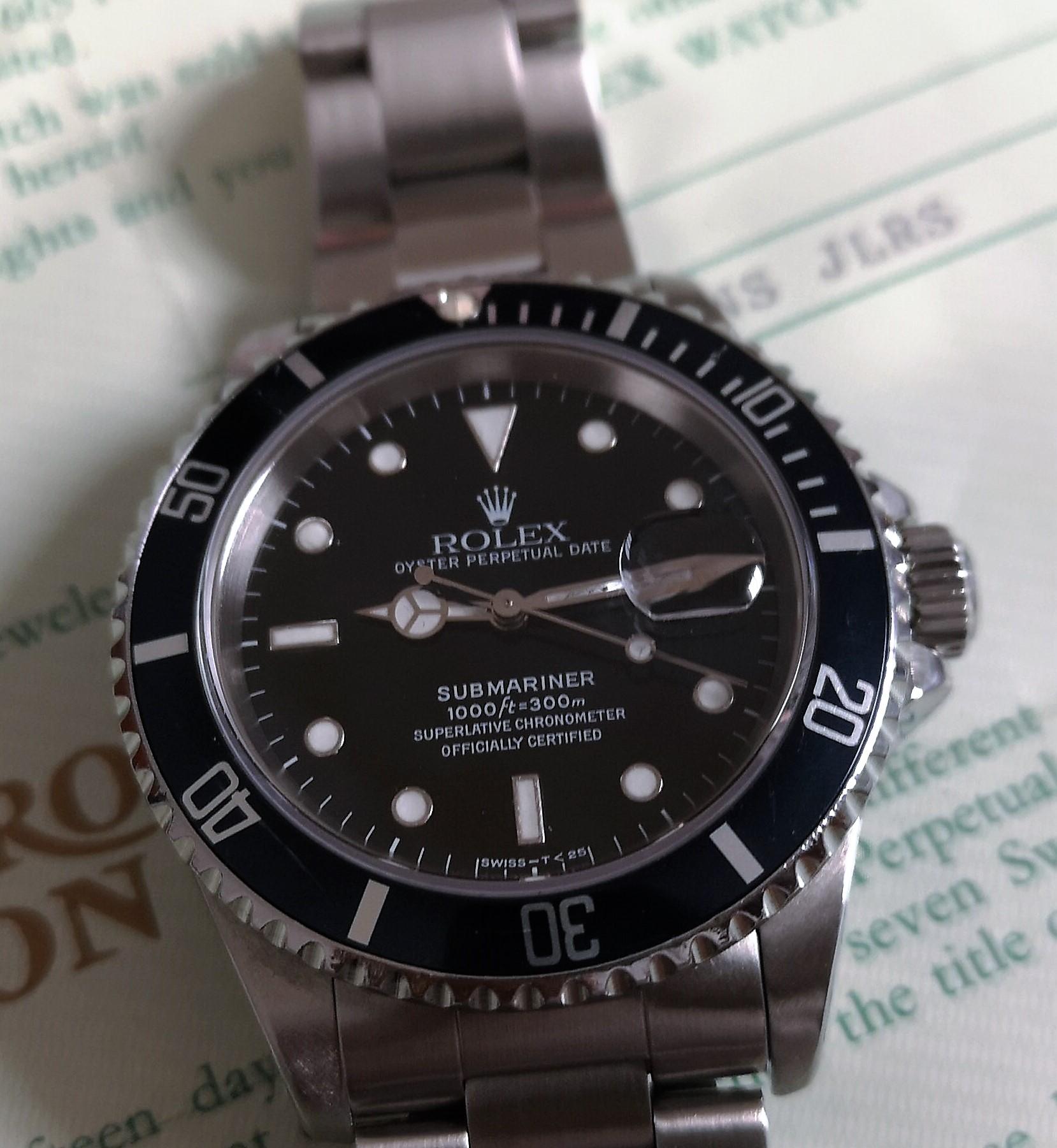 "Rolex Submariner Submariner Date ""Faded Blu Bezel"" Full Set 1991 | San Giorgio a Cremano"