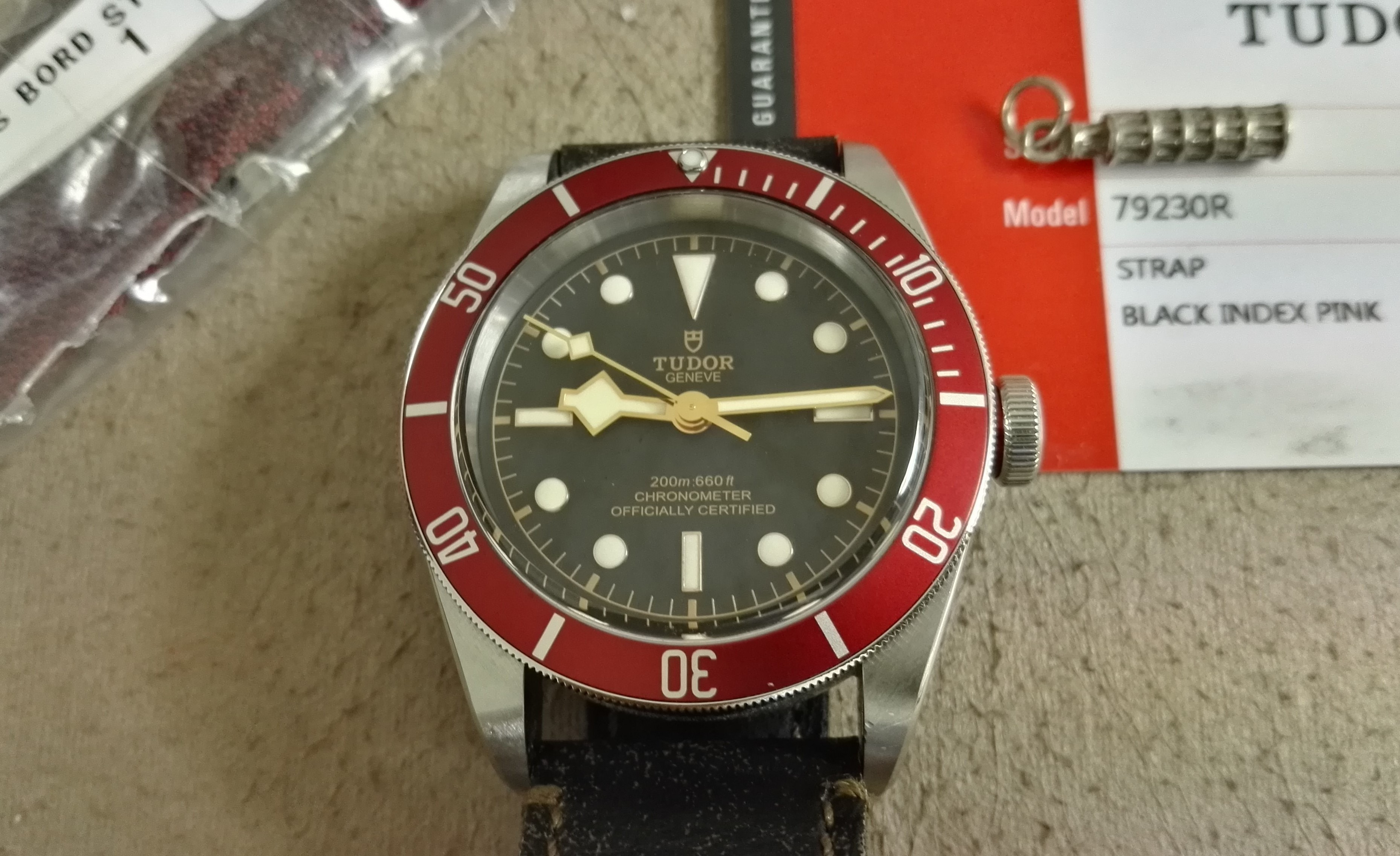 Tudor Heritage Black Bay Black Bay Heritage Red 41mm Auto 79230R - Like New | San Giorgio a Cremano