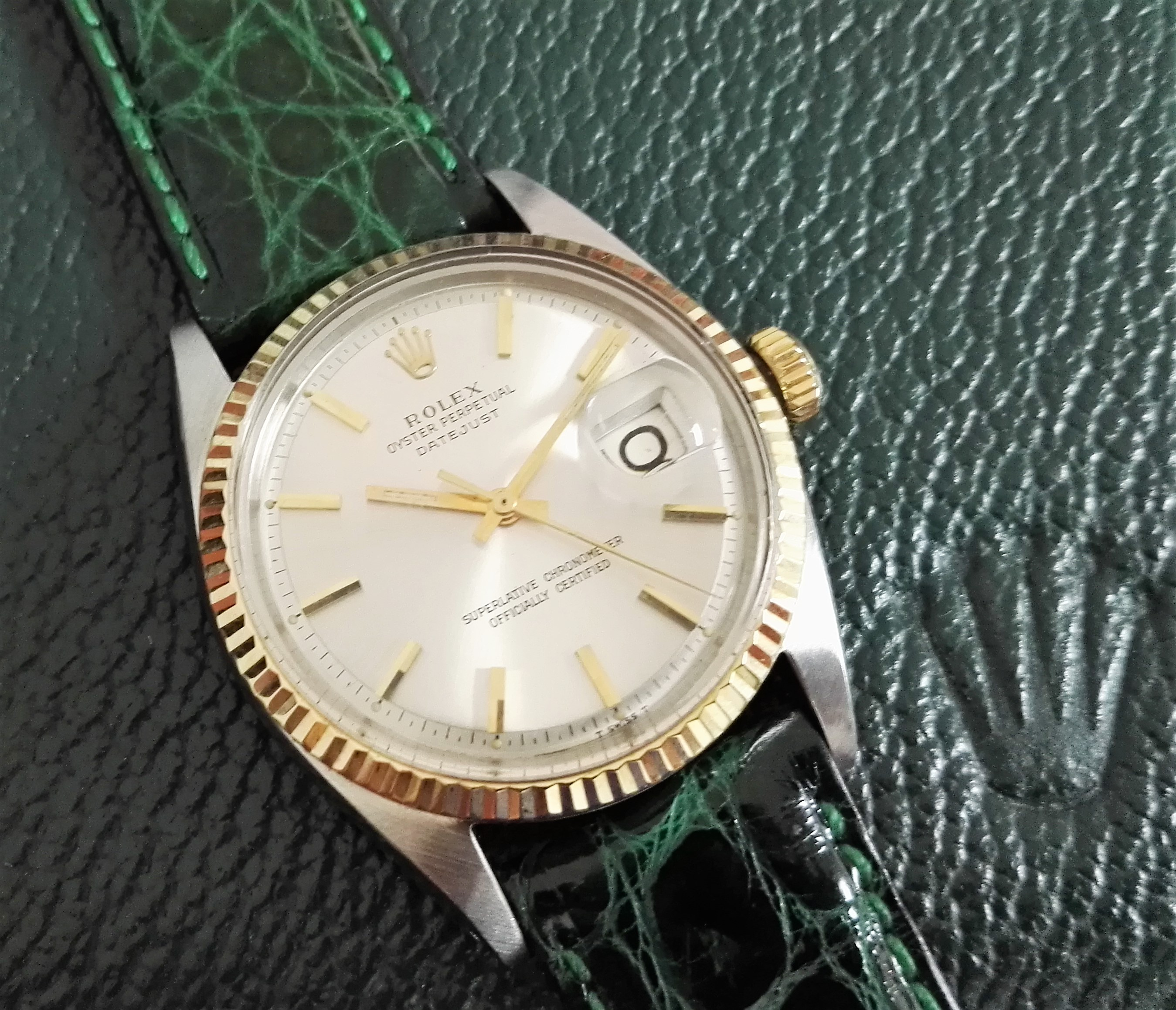 Rolex Datejust Datejust 1601 - 18 Kt Gold/Steel - Silver Dial - Index Gold | San Giorgio a Cremano