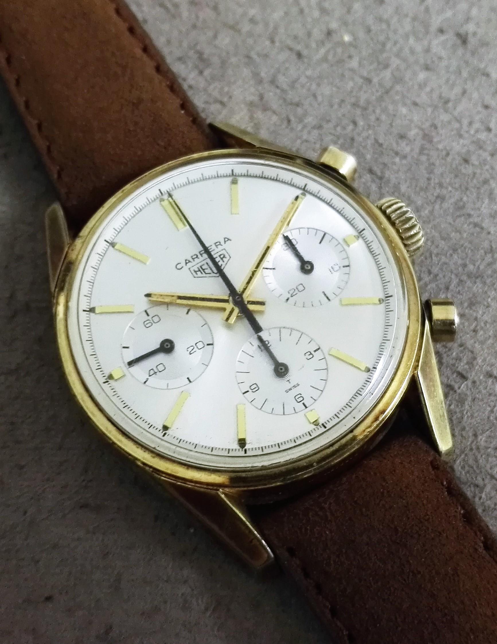 Heuer Carrera Cronograph Ref. 2448 Long Index - Valjoux 72 | San Giorgio a Cremano
