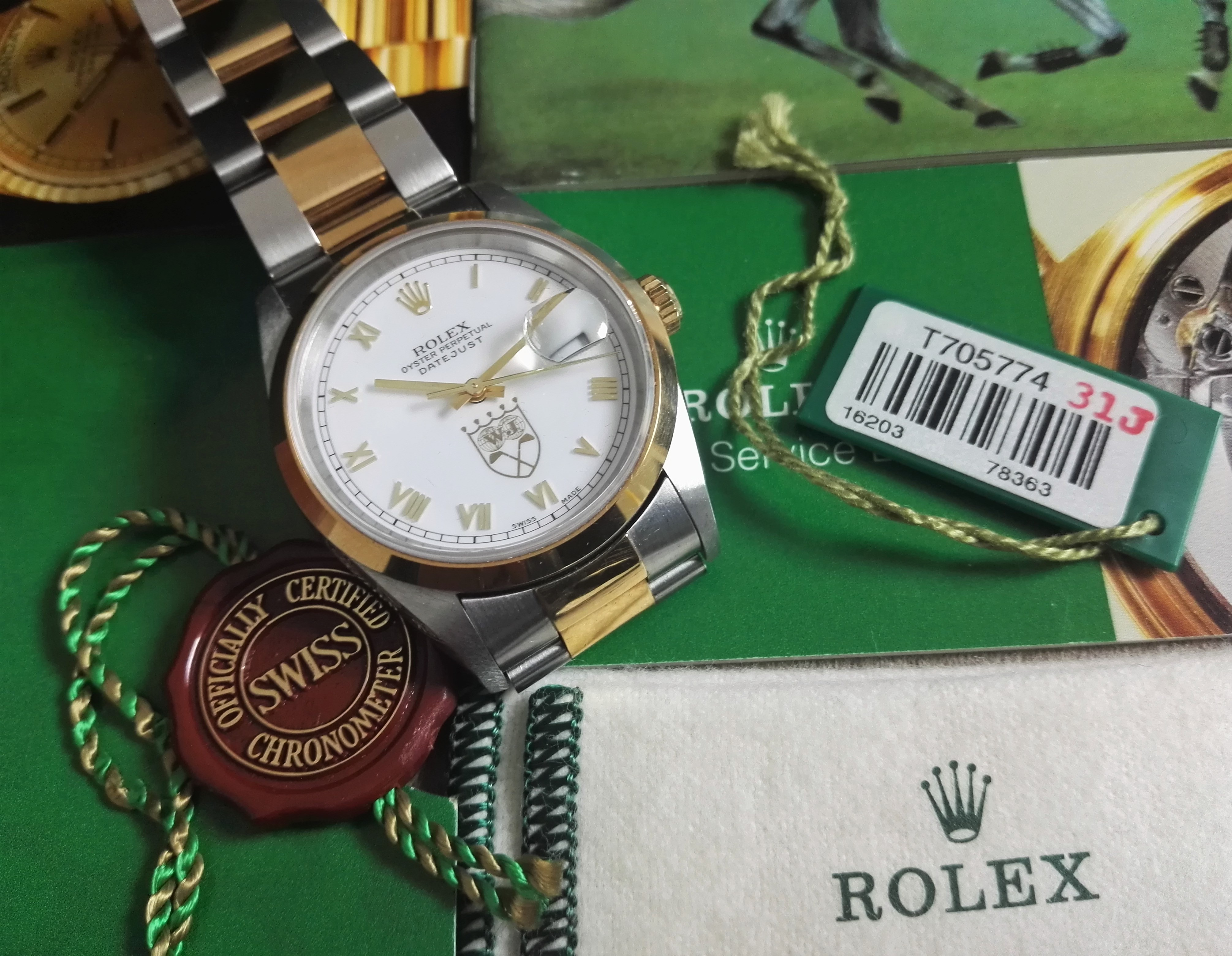 Rolex Datejust Datejust 16203 Nick Price - Limited Edition 200pz. full set | San Giorgio a Cremano