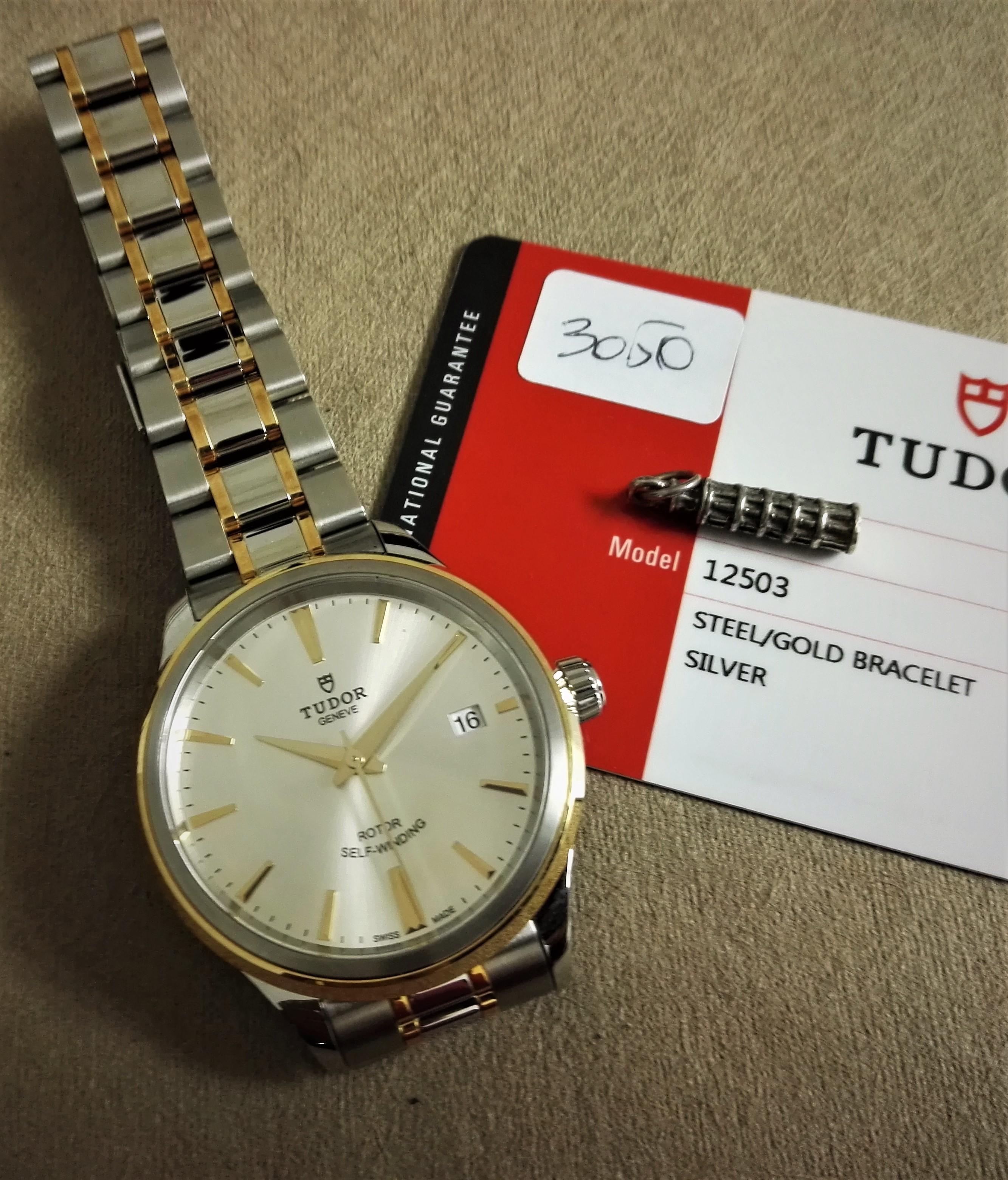 Tudor Style Style 18kt Gold & Steel Silver Automatic 12503 New 2019   San Giorgio a Cremano