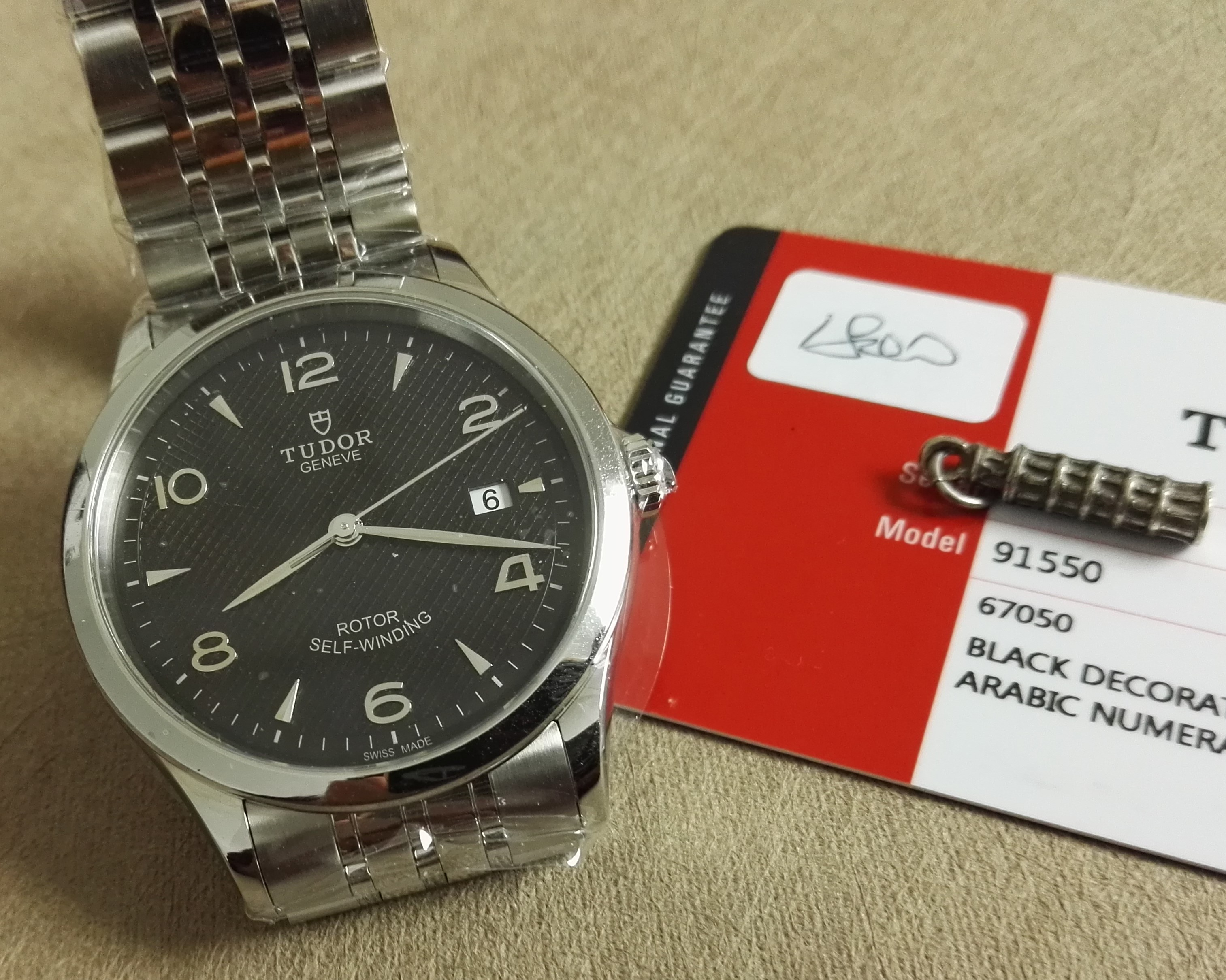 Tudor 1926 Stainless Steel Automatic Black Dial Men's Watch New | San Giorgio a Cremano