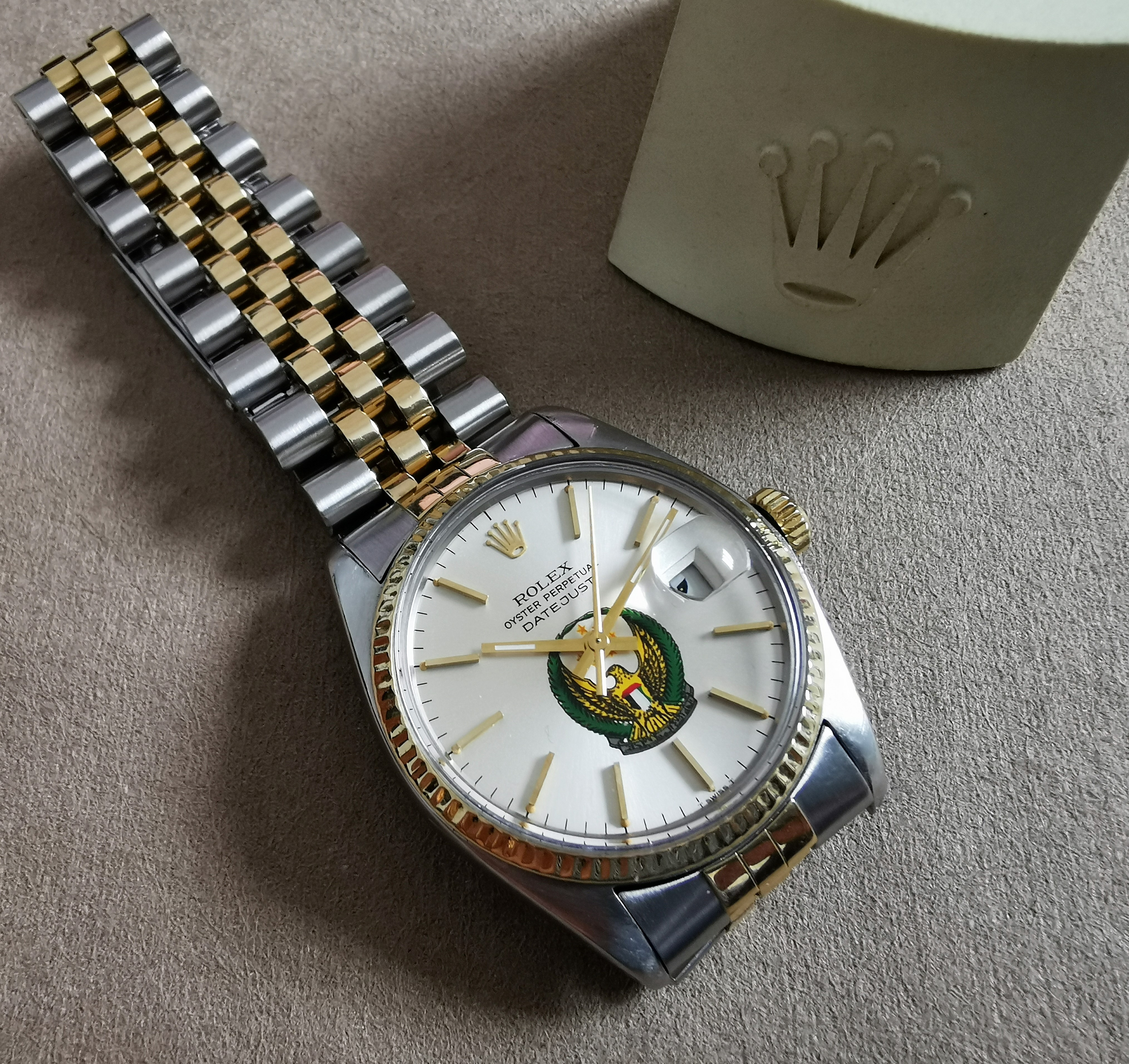 Rolex Datejust Rare UAE Datejust 16013 steel and 18 kt gold jubilee | San Giorgio a Cremano