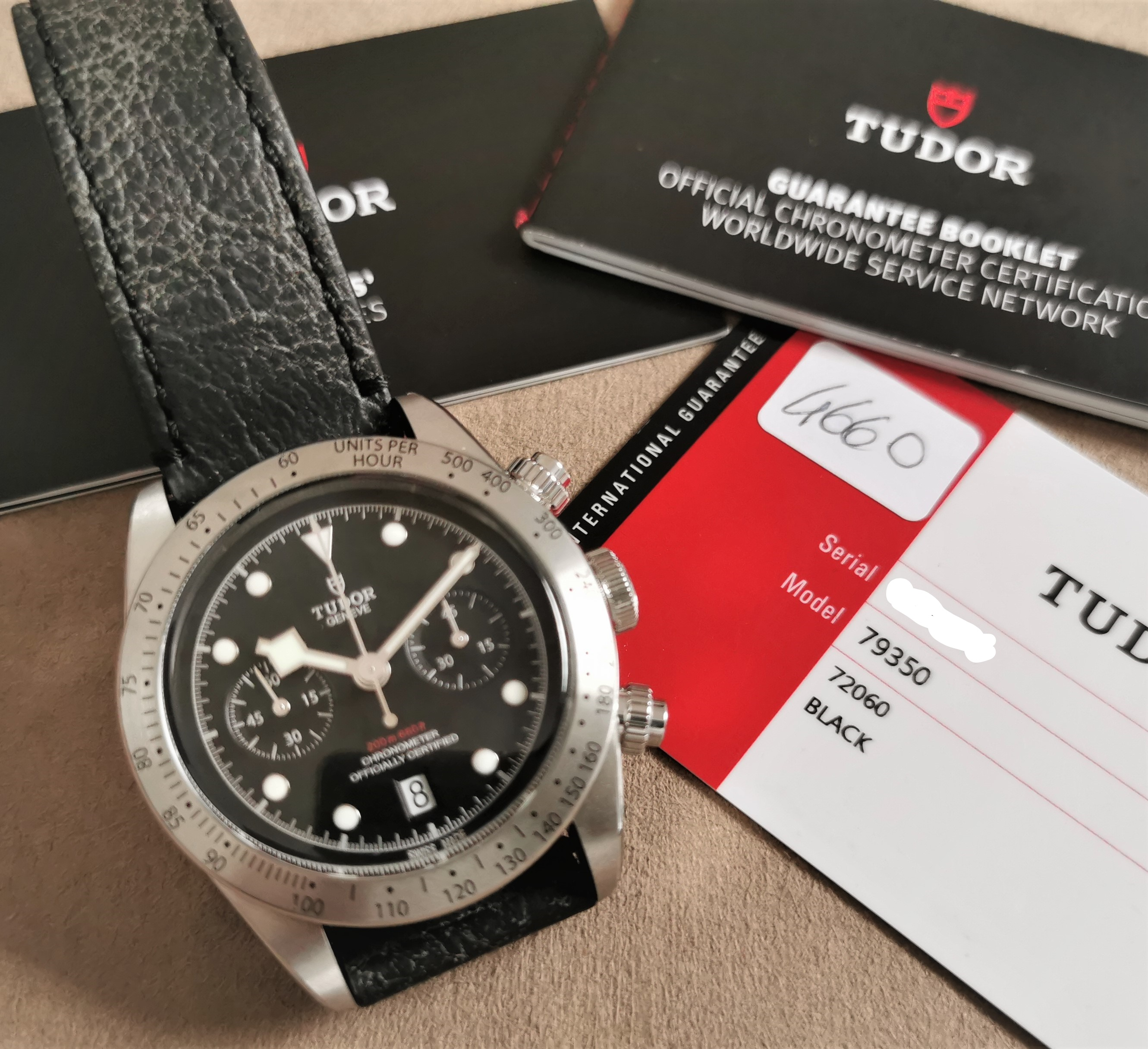 Tudor Heritage Black Bay Heritage Black Bay Chronometer Steel Automatic Black new 20 | San Giorgio a Cremano