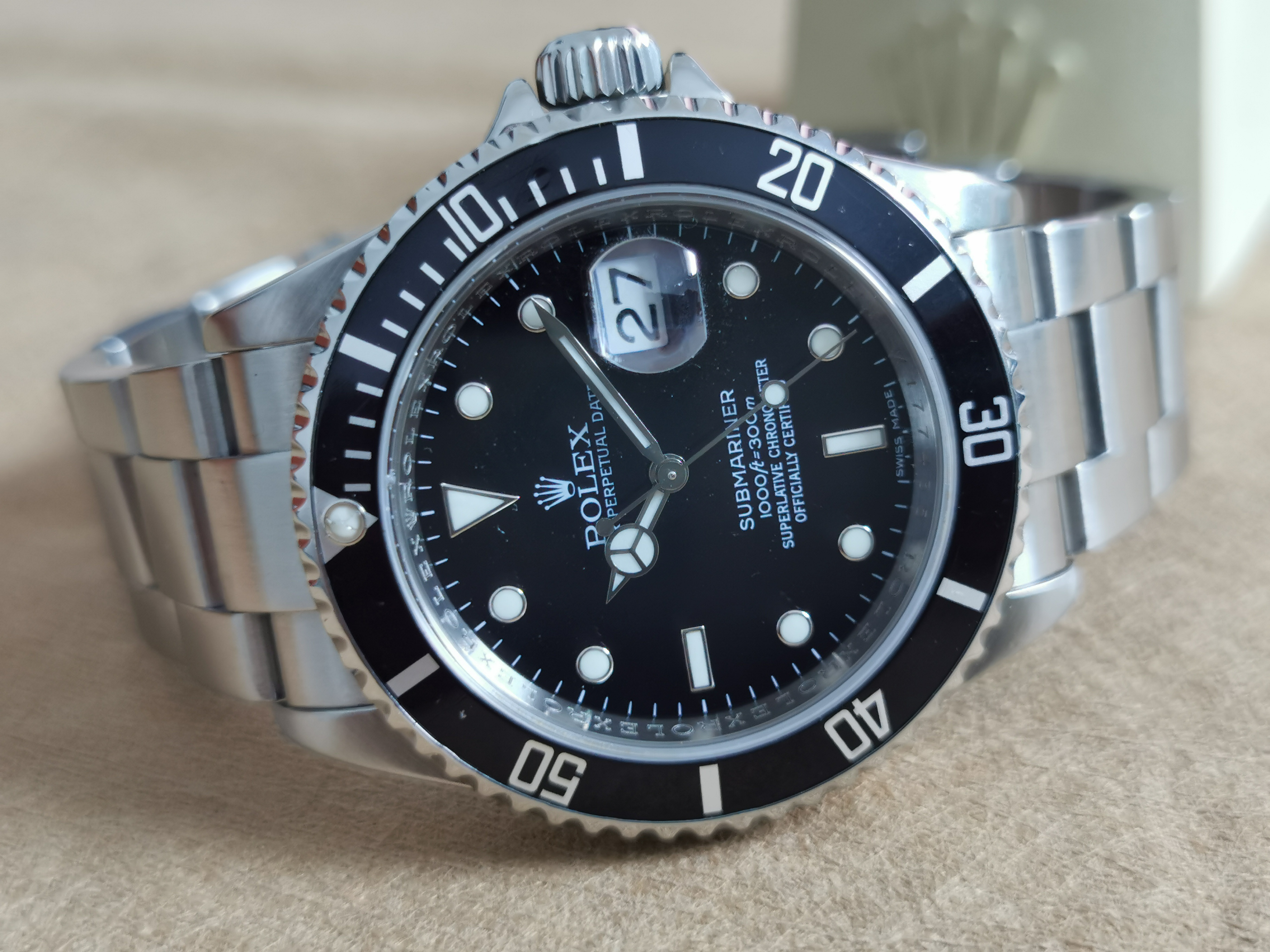 Rolex Submariner Submariner Date 16610 RRR box and warranty 2008 | San Giorgio a Cremano