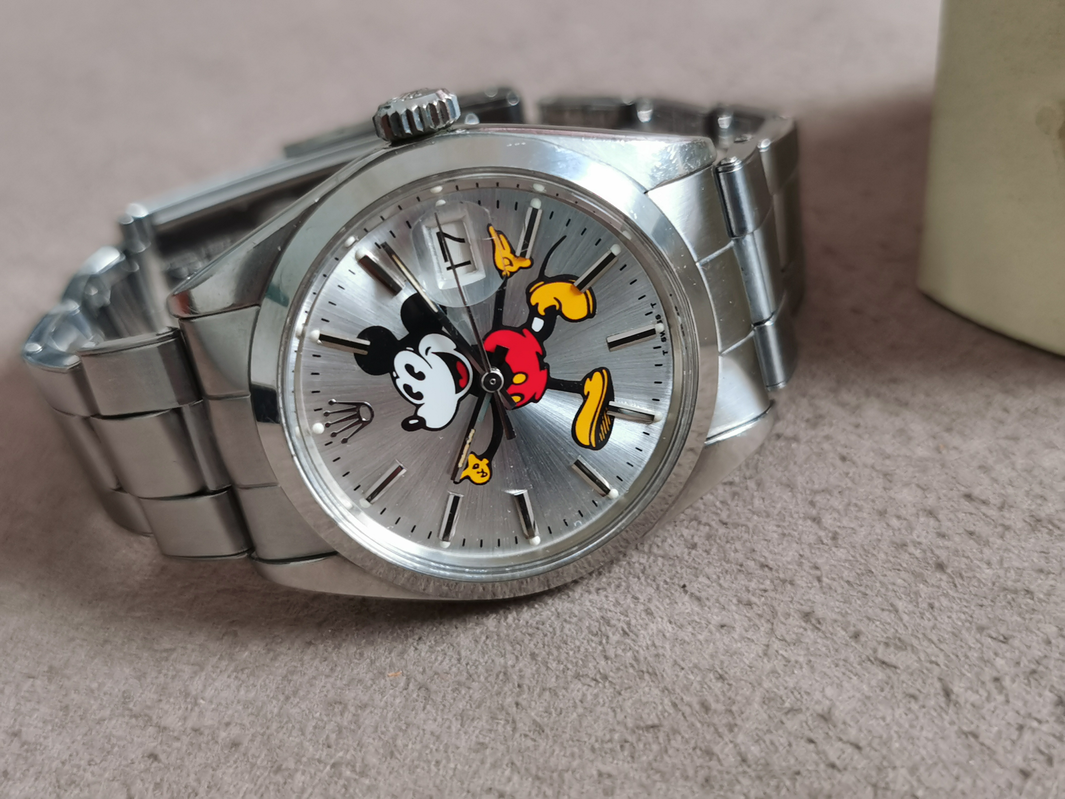 Rolex Oyster Perpetual Date Oyster Perpetual Date 1500 Mickey Mouse dial 1970 caliber 1570 | San Giorgio a Cremano