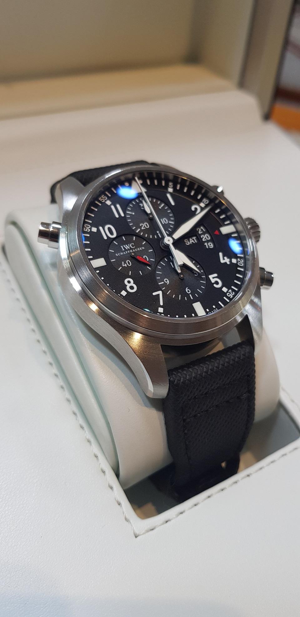 IWC Pilot Double Chronograph 377801   Sant'Egidio alla Vibrata