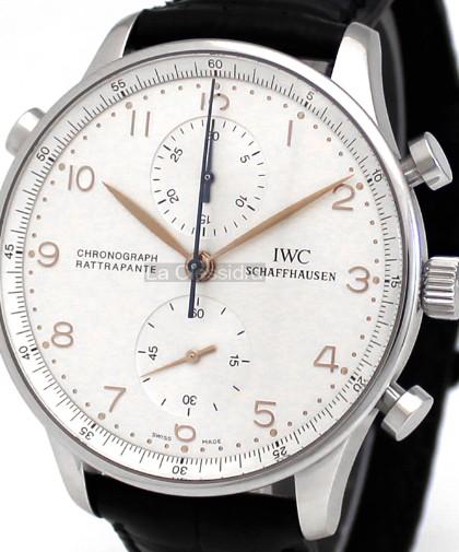 IWC Portuguese Chronograph Rattrapante   Milano