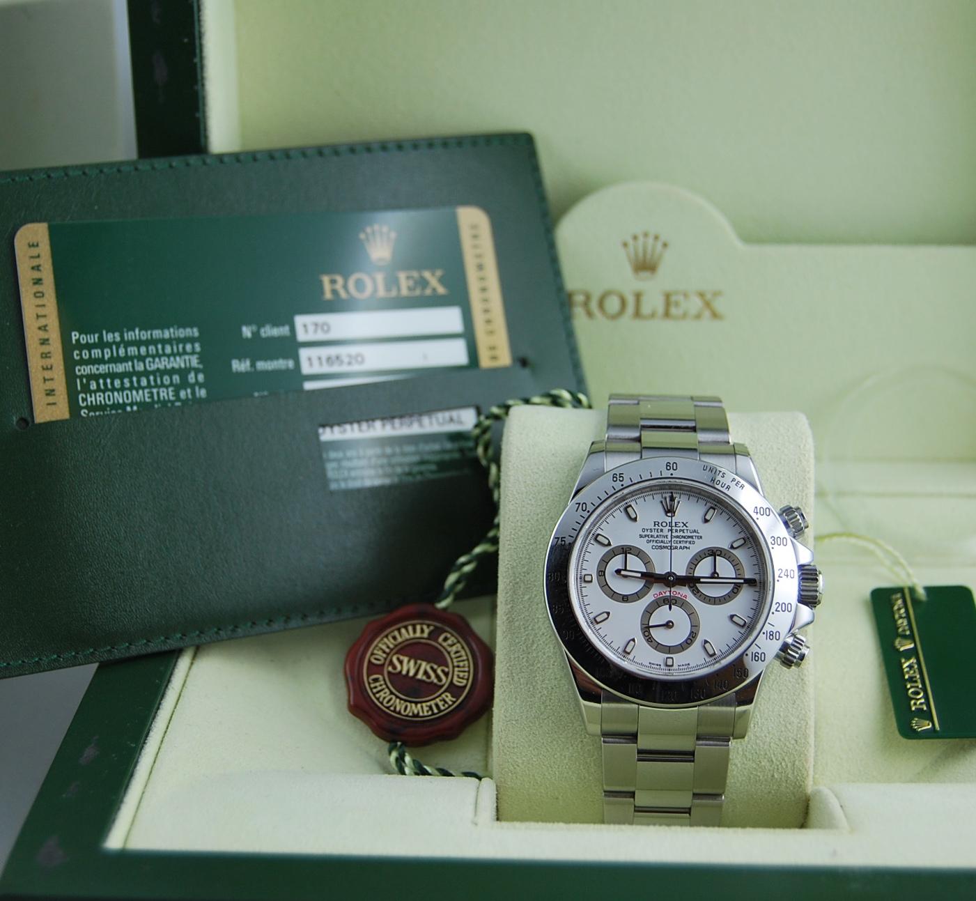 Rolex Daytona 116520   Trento