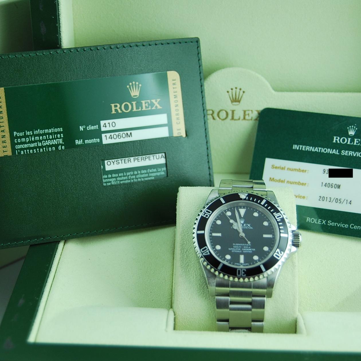 Rolex Submariner (No Date) Random   Trento