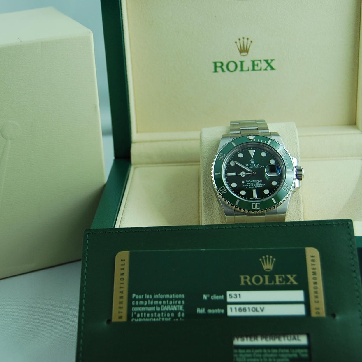 Rolex Submariner Date Hulk Verde | Trento