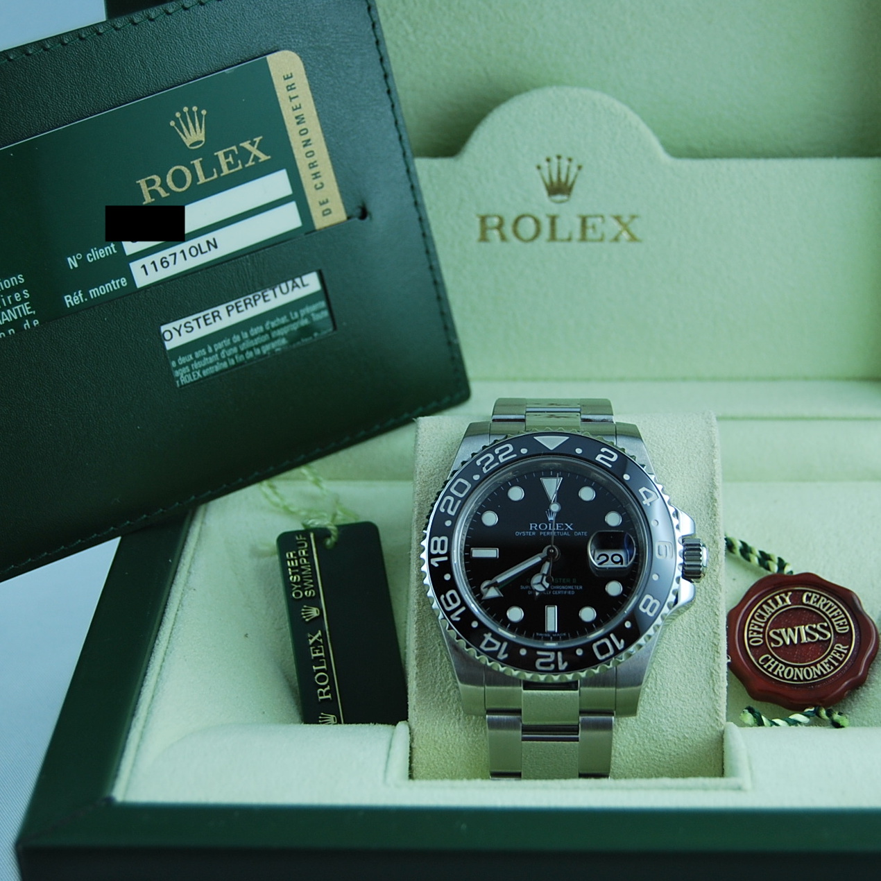 Rolex GMT-Master II 116710LN | Trento