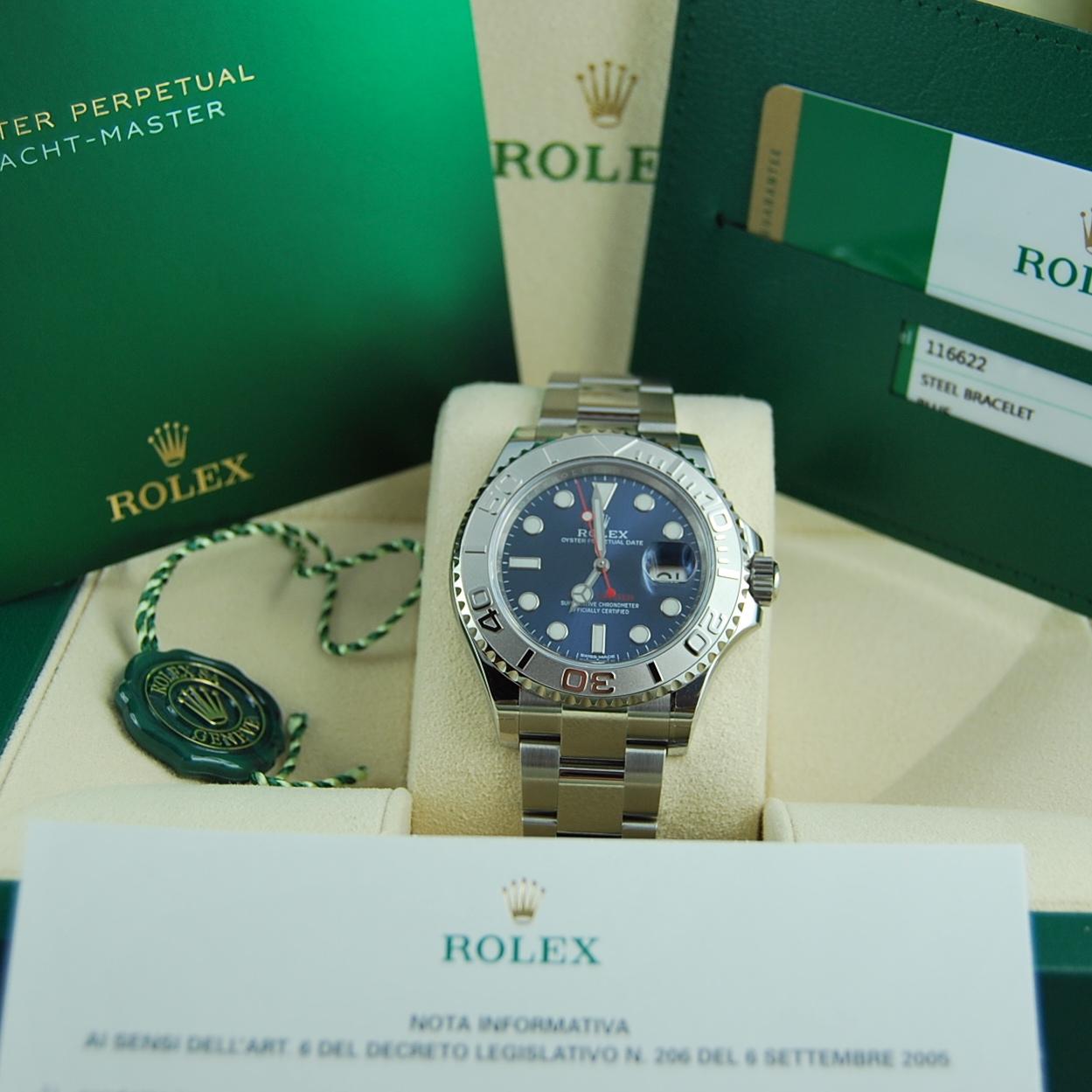Rolex Yacht-Master 116622 BLU