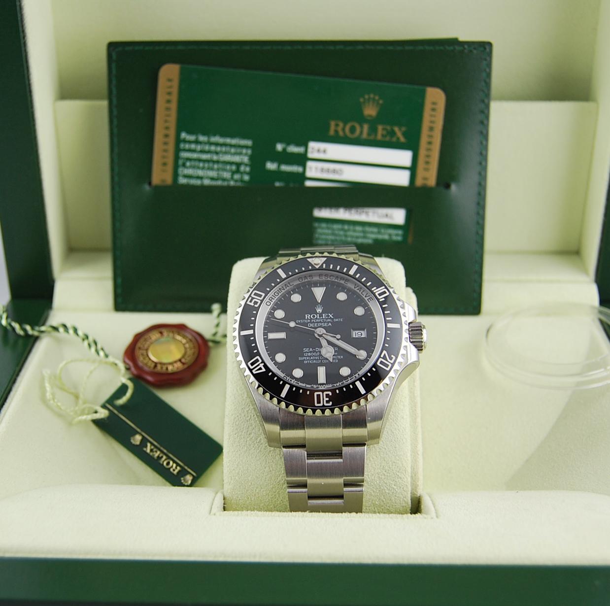 Rolex Sea-Dweller Deepsea 116660 N.O.S New