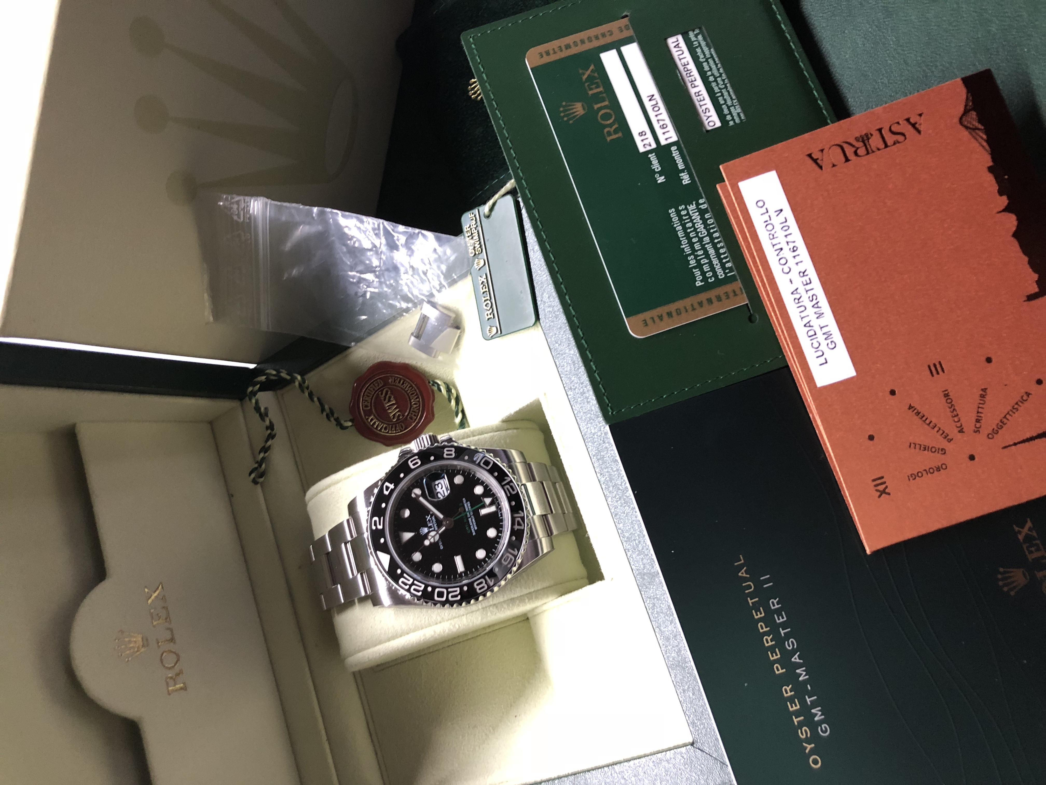 Rolex GMT-Master II Ceramica Black | Genova