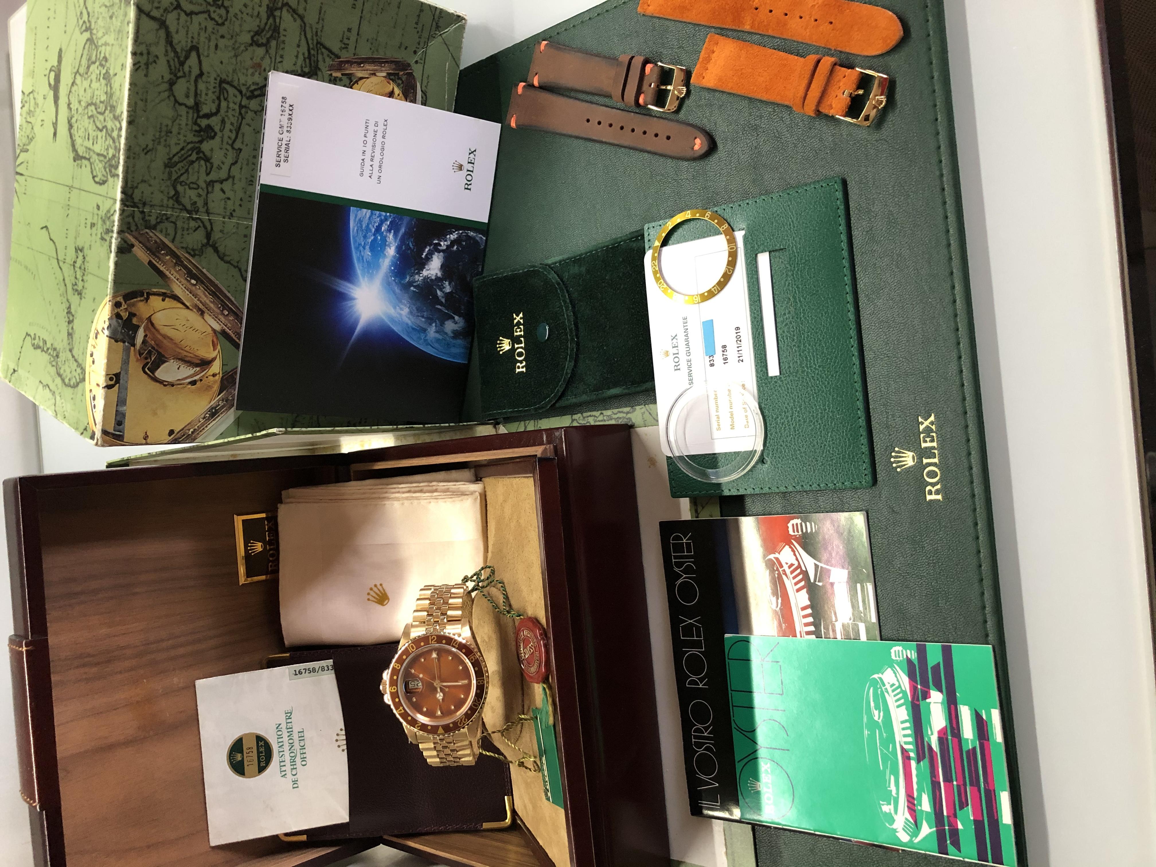 Rolex GMT-Master Nipple Dial | Genova