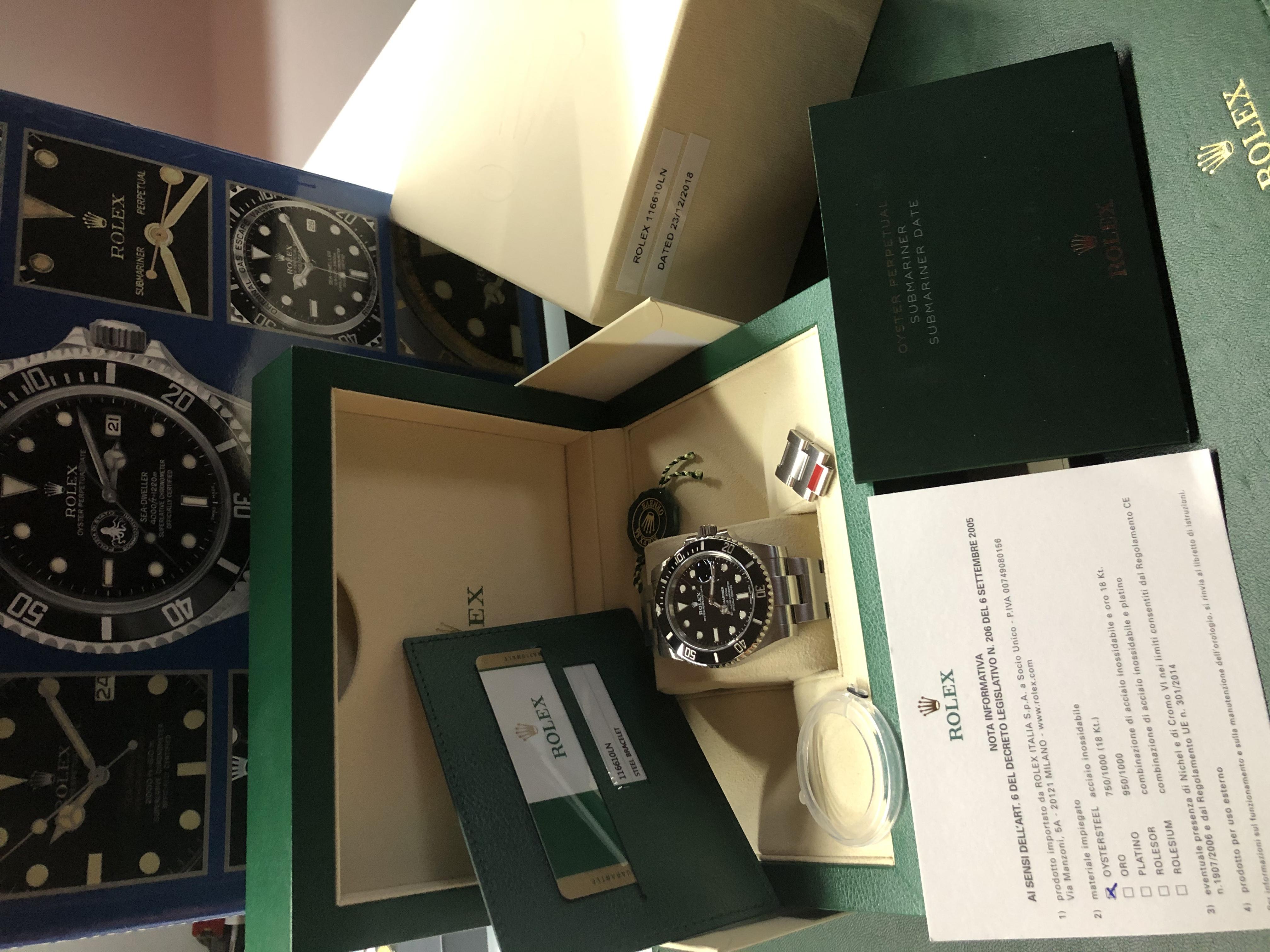Rolex Submariner Date Ceramica - Mai indossato | Genova